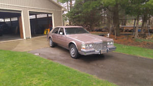 1983 Cadillac Seville Winter stored