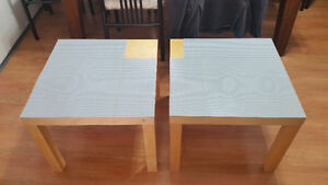 2 Lego end tables