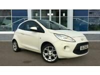 2013 Ford KA 1.2 Zetec (s/s) 3dr Hatchback Petrol Manual