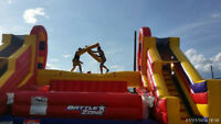 INFLATABLE BOUNCERS & MORE FOR RENT....