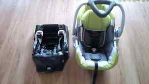 Baby Trend Car Seat and Base.  Sold pending pickup*