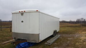 22ft enclosed trailer looking to trade