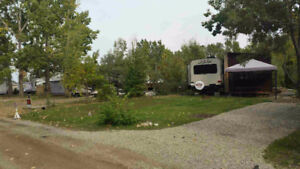Campsite available for lease at Oasis Grove