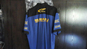 Chemise de collection Subaru rallye bleue 75.00 $