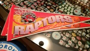 NBA Basketball Raptors Pennant or 30 Pin Set or Bobblehead