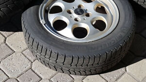 pneus d'hiver Mini Cooper Michelin X-Ice pneus sur jantes