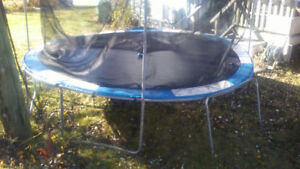 12 or 14 foot trampoline. 25.00.