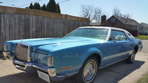 72 Lincoln for sale. Great shape for the price