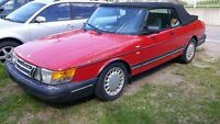 Saab 900 turbo decapotable automatique J0K-2N0 a st gabriel