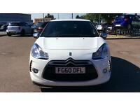 2010 Citroen DS3 1.6 HDi Black 3dr Manual Diesel Hatchback