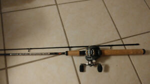 Baitcaster rod and reel