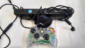 Xbox 360 Controller and Kinect.