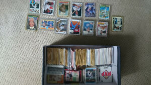 Baseball cards, Blue Jays and others