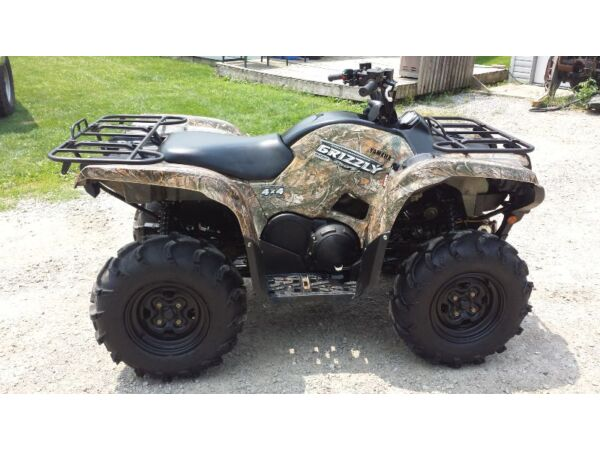 Used 2009 Yamaha 09 yamaha grizzly 550 eps