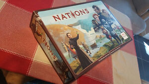 Nations board game. Slight box damage West Island Greater Montréal image 1