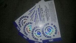 4 Concordia tickets for Fri Oct 14 Kitchener / Waterloo Kitchener Area image 1
