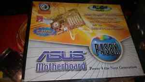 Asus p4s8x motherboard with p4 2.4ghz processor