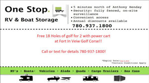 Rv & Boat Secure Storage - 5 min North of the Henday