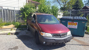 2002 Pontiac Montana Need To Go Asap! Low Kilometers