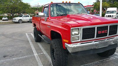 1987 GMC Sierra 3500  1987 GMC K3500 4x4, Lifted, V8, AC, Alpine Touchscreen Nav, JL audio, Chevy