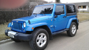 2015 Jeep Sahara Trail Rated 4x4