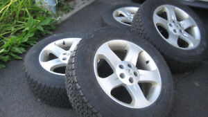 4 Mags Nissan Murano avec Pneus Hiver Dunlop