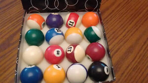 billiard ball 2 1/4 inch with practice material