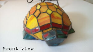 Stained Glass Turtle Lamp $40