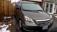2007 Honda Odyssey LX Minivan, Van 176000 KM