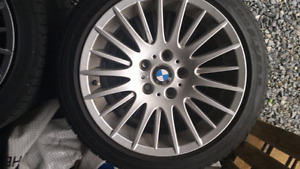 Bmw rims with new tires