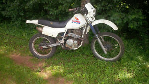 honda xl350r with a 400ex motor runs great has papers!!