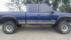 1995 z71 with lift kit for trade