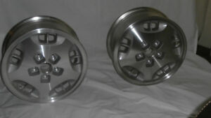 Alloy rims for snow tires
