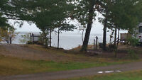 Large Season Lot  in small trailer park on Grand Lake