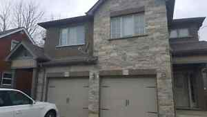 3-brm upscale semi-detached house, avail. as of May 1st