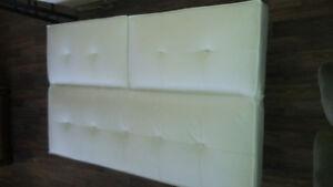 white futon couch