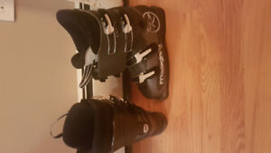 Rossignol comp 245 and 255 ski boots