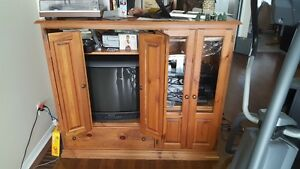 tv stand and cabinet combo Custom  MOVING to BIG for new place
