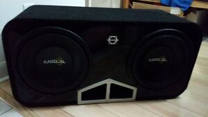 2 x 12 Inch Subwoofers-Bassworx Box-Brutus 1000Wrms amp