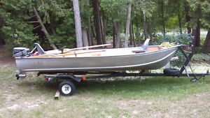 14' ALUMINUM FISHING BOAT - COMPLETE PACKAGE