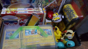 Pokemon collection - Cards.Toys.Books.