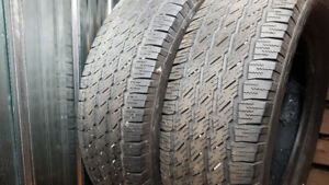 Set of 4 michelin 235 65 17 tires