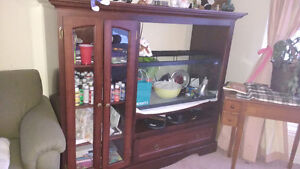 Shelving unit fits 32in tv
