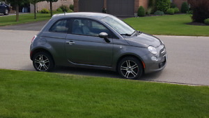 2012 Fiat 500 - low km, mint condition - safetied