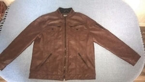 Point - Point Zero Collection - Brown Leather Jacket