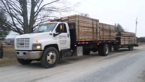 2003 gmc 7500 . Steel 24ft flatbed