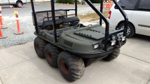 ATV Argo 6X6 fully loaded with trailer, winch, ROPS, & extras