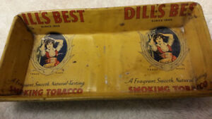 VINTAGE DILL'S BEST TOBACCO CONTAINER