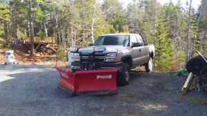 2006 Chevrolet 2500HD with Boss V Plow