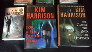 supernatural thrillers by Vicki Pettersson & Kim Harrison